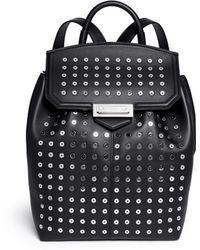 Alexander Wang 'Prisma' Rhodium Eyelet Leather Backpack - Lyst