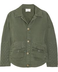 Band of Outsiders Cotton Jacket - Lyst