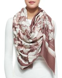 Marc Jacobs Forest Printed Scarf - Lyst