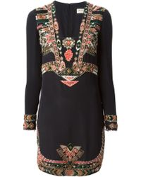 Emilio Pucci Ethnic Embroidered Dress - Lyst