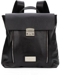 Valentino Chico Flap Backpack - Lyst