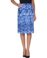 MICHAEL Michael Kors Knee Length Skirt - Lyst