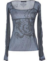 Ermanno Scervino Long Sleeve Tshirt - Lyst