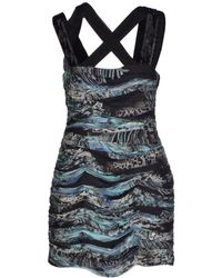 Matthew Williamson Short Dress - Lyst