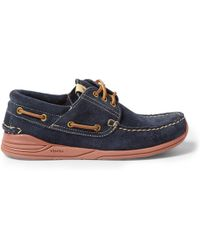 Visvim Americana Suede Deck Shoes - Lyst