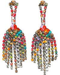 Tom Binns - Riot Of Colour Earrings - Lyst