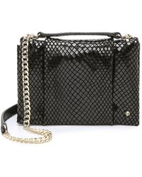 Halston Heritage Chain Shoulder Bag - Black - Lyst