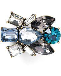 Aqua | Paris Cluster Pin | Lyst