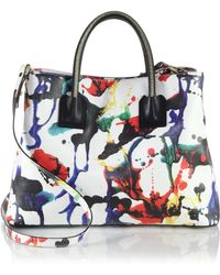 Milly Paint-Splatter Tote - Lyst