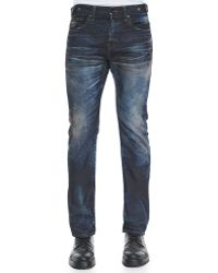 PRPS Demon Slim-Fit Dirty Wash Denim Jeans - Lyst