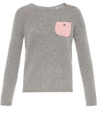 Chinti & Parker Lightweight Cashmere-Knit Sweater - Lyst