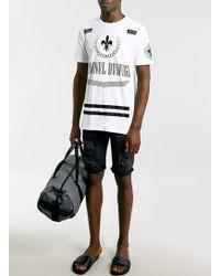 LAC | Grey Melange Gym Bag | Lyst
