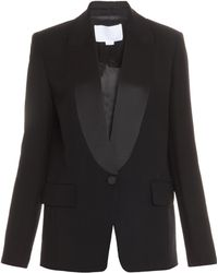 Alexander Wang Black Fitted Blazer - Lyst