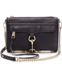 Rebecca Minkoff Mini Mac Bag Ink - Lyst