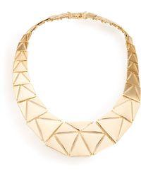 Lauren by Ralph Lauren - Triangle Collar Necklace - Lyst