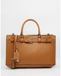 Carvela Kurt Geiger   Tote Bag With Buckle Hardwear   Lyst