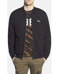 Obey 'Sobrante' Varsity Zip Sweatshirt - Lyst
