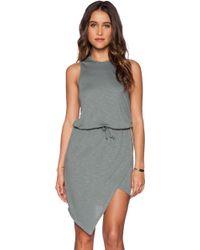 Lanston Asymmetrical Dress - Lyst