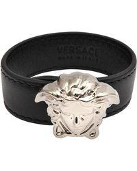 Versace Palazzo Medusa Bracelet black - Lyst