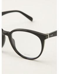 Celine Deep Round Glasses - Lyst