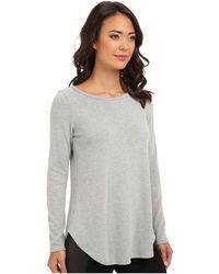 Karen Kane Sweater Knit Top - Lyst