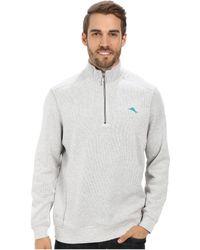 Tommy Bahama Antigua Half Zip Sweatshirt - Lyst