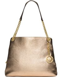 Michael Kors Michael Jet Set Chain Item Large Shoulder Tote - Lyst