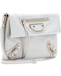 Balenciaga Giant Envelope Leather Shoulder Bag - Lyst