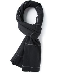 Christophe Lemaire - Checked Scarf - Lyst
