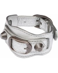Balenciaga Silver Classic Bracelet - Lyst