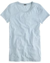 J.Crew Speckled Cotton Tee - Lyst