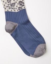 Maison Margiela | Silk Jacquard Socks | Lyst