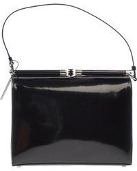 Calvin Klein Black Handbag - Lyst