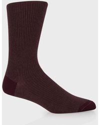 Paul Smith Damson Twisted Weave Socks - Lyst
