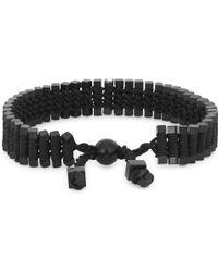 Vitaly - Arma Black Stainless Steel Link Bracelet - Lyst