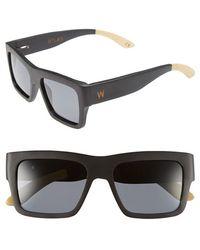 Woodzee - 'atlas' 52mm Polarized Sunglasses - Lyst