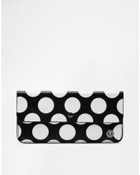 Fred Perry - Leather Polka Dot Purse - Lyst