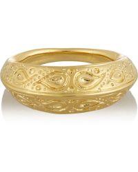 Aurelie Bidermann Apache Gold-plated Ring - Lyst