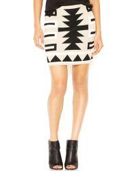 RACHEL Rachel Roy Printed Body-Con Pencil Skirt - Lyst