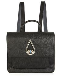 Kenzo Raindrop Leather Backpack - Lyst