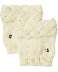 BEARPAW | Cable Knit Boot Toppers | Lyst