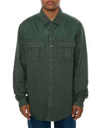 Volcom The Treehouse Ls Buttondown Shirt - Lyst