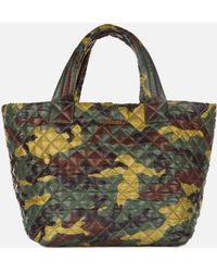 MZ Wallace Small Metro Tote Camo Oxford - Lyst