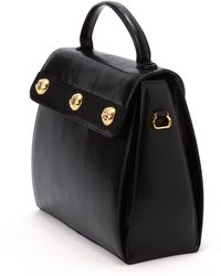 Ferragamo Black Handbag - Lyst