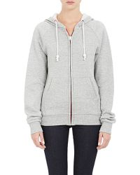 Band of Outsiders - Zip-front Hoodie - Lyst