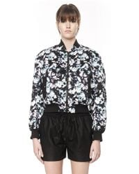 Alexander Wang Bomber With Webbing Detail - Lyst