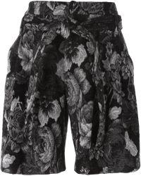 A.F.Vandevorst - '152 Paraguay' Jacquard Shorts - Lyst