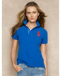 Ralph Lauren Blue Label Novelty Polo Shirt - Lyst