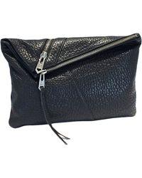 Linea Pelle - Jude Pebbled Leather Clutch - Lyst