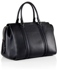 Hugo Boss Berlin | Grained Leather Top Handle Bag - Lyst